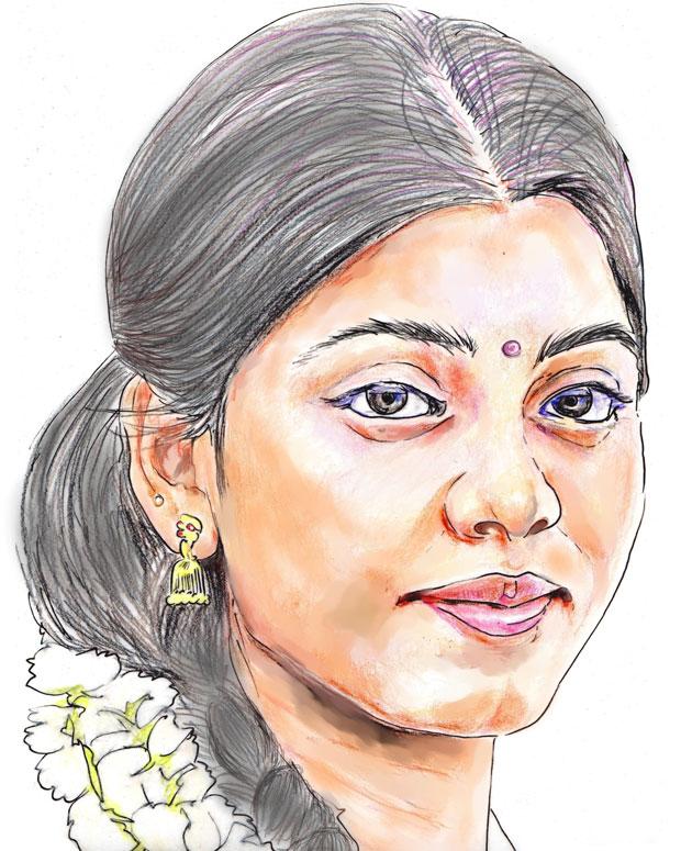Tamil-village-girl-withflowers_620x775