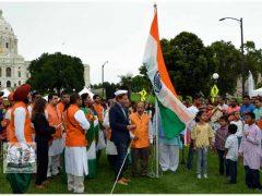 மினசோட்டாவில் 73வது இந்திய சுதந்திர தின விழா