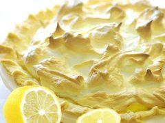 எலுமிச்சை மெறாங் பை (Lemon Meringue Pie)